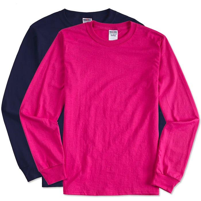 f60a97a0c4b Custom Canada - Jerzees 50 50 Long Sleeve T-shirt - Design T-shirts ...
