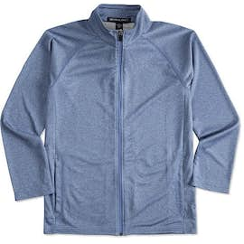 Devon & Jones Heather Performance Full Zip