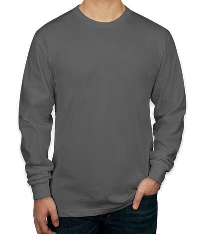 American Apparel Long Sleeve T-shirt - Asphalt