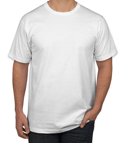 Canada - Anvil Jersey T-shirt - White