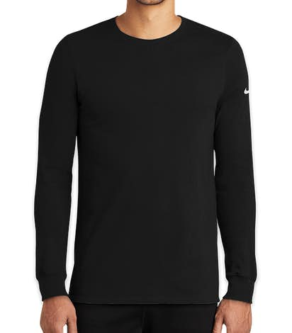 Nike Dri-FIT Long Sleeve Performance Blend Shirt - Black