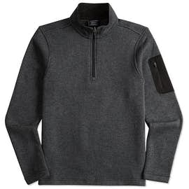 Charles River Quarter Zip Sweater Fleece Pullover