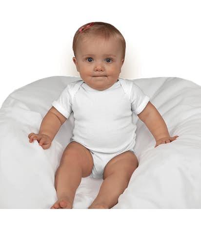Rabbit Skins Baby Bodysuit - White