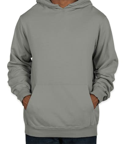 Port & Company Pigment Dyed Pullover Hoodie - Pewter