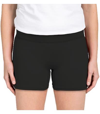 Augusta Women's Volleyball Short - Black