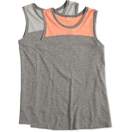 Augusta Women's Colorblock Crossback Tank