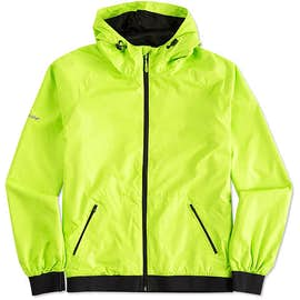 Sport-Tek Embossed Full Zip Hooded Jacket
