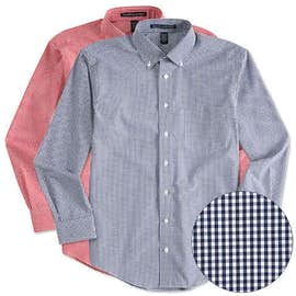 Devon & Jones Gingham Dress Shirt