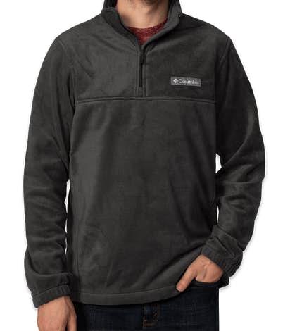 Columbia Steens Mountain Quarter Zip Fleece Pullover - Charcoal Heather