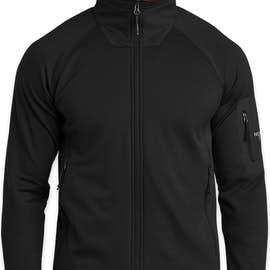 The North Face Mountain Peaks Full Zip Fleece Jacket - Color: True Black