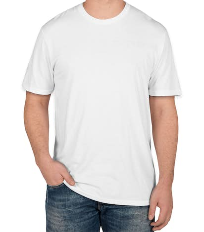 District Made Relaxed Tri-Blend T-shirt - White