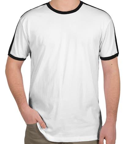 LAT Soccer T-shirt - White / Black