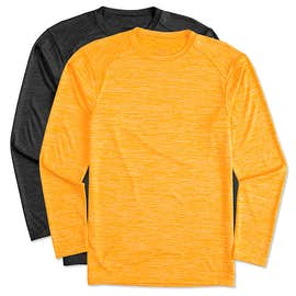 Augusta Tonal Heather Long Sleeve Performance Shirt