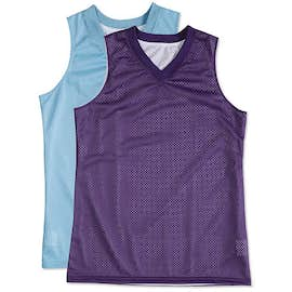 Teamwork Women's Fadeaway Reversible Mesh Basketball Jersey
