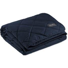Eddie Bauer Quilted Insulated Fleece Blanket