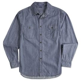 Port Authority Denim Long Sleeve Shirt