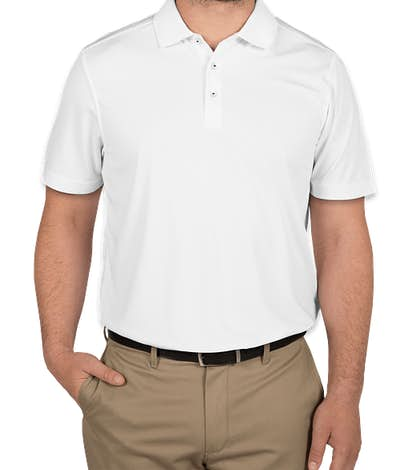 CBuk by Cutter & Buck Fairwood Performance Polo - White