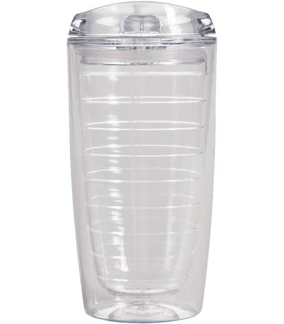 16 oz. Insulated Vortex Tumbler - Clear