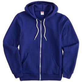 American Apparel USA-Made Flex Fleece Zip Hoodie