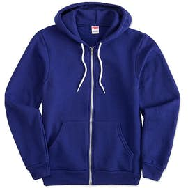American Apparel USA-Made Flex Fleece Zip Hoodie