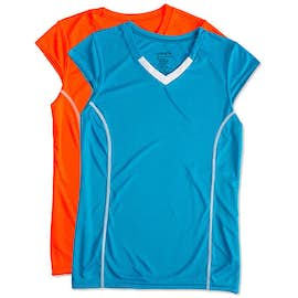 Augusta Women's Contrast V-Neck Volleyball Jersey