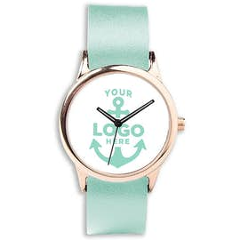 Rose Watch with Vegan Leather Band
