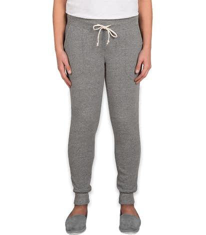 Alternative Apparel Juniors Jogger Sweatpants - Eco Grey