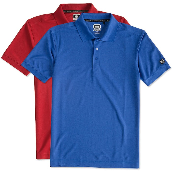 edfb09ab Design Custom Embroidered Ogio Performance Polo Online at CustomInk