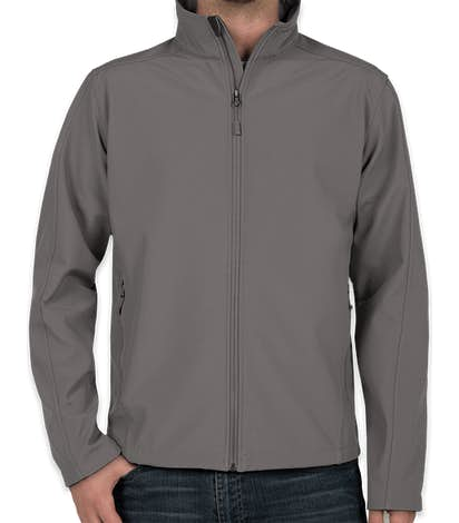 Port Authority Core Fleece Lined Soft Shell Jacket - Deep Smoke