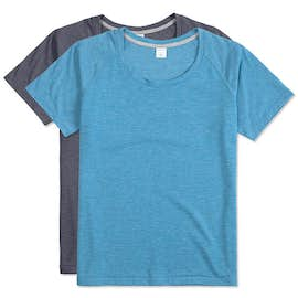 Sport-Tek Women's Tri-Blend Performance Raglan T-shirt