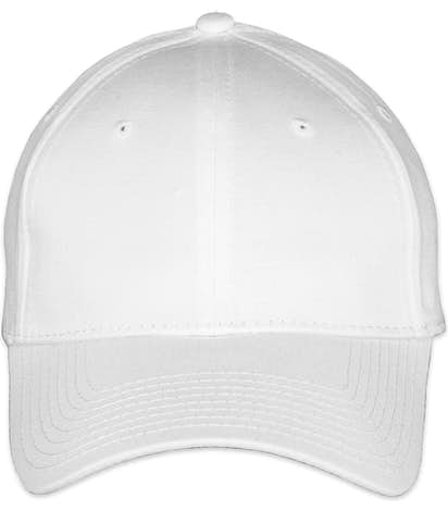 New Era Stretch Fit Cotton Hat - White