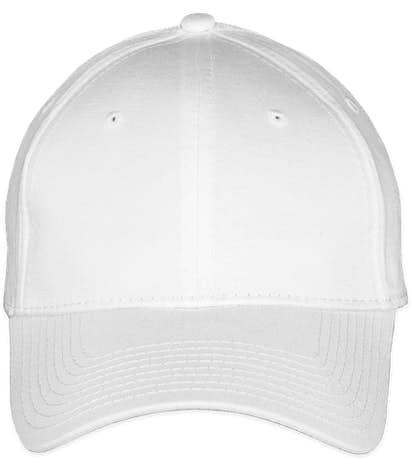 New Era 39THIRTY Stretch Fit Cotton Hat - White