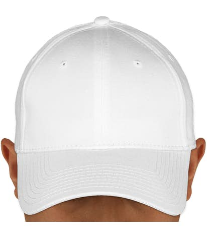 Canada - New Era 39THIRTY Stretch Fit Cotton Hat - White