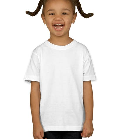 Rabbit Skins Toddler Jersey T-shirt - White