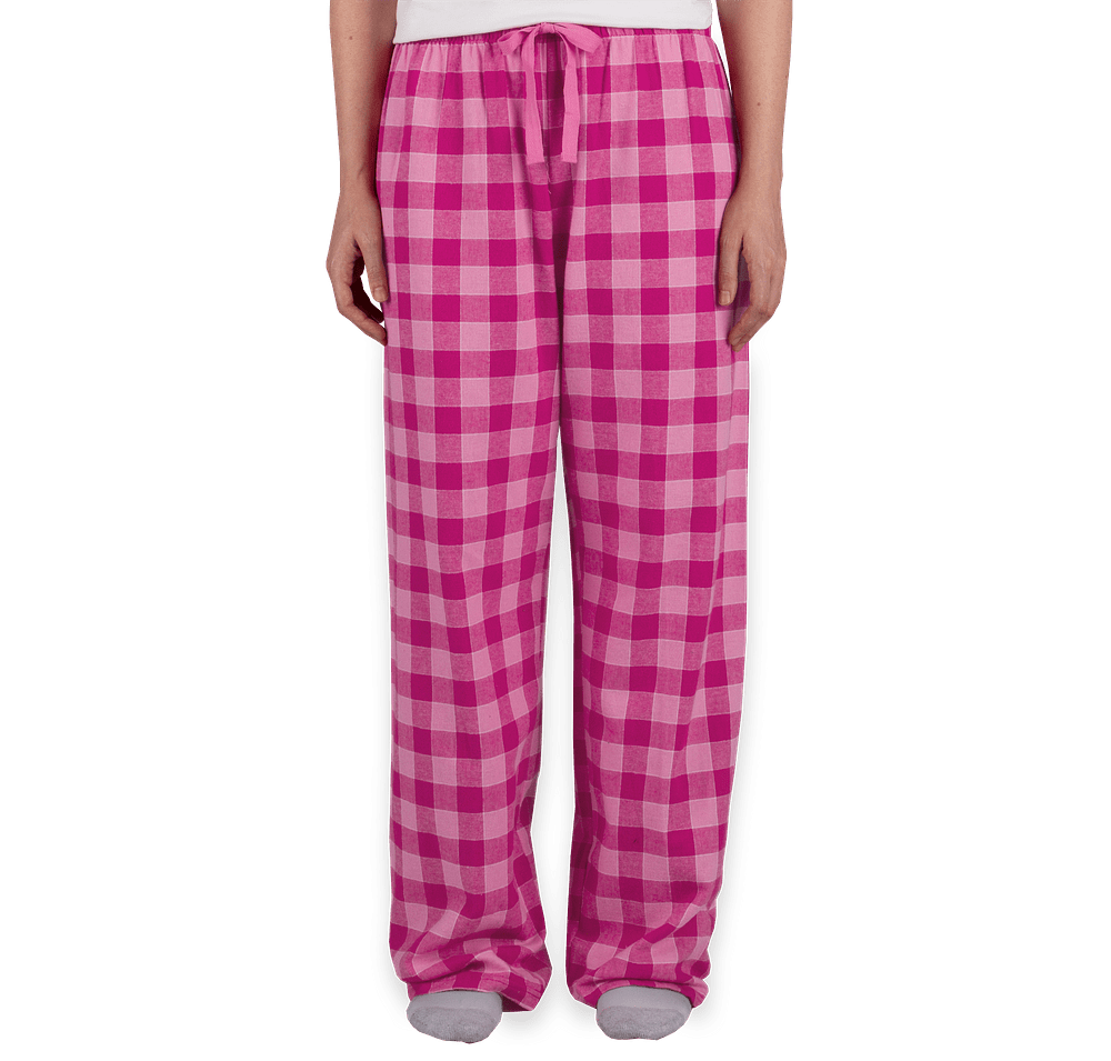 Custom Boxercraft Juniors Flannel Pajama Pants Design Pajamas