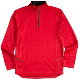 Ultra Club Lightweight Quarter Zip Performance Pullover