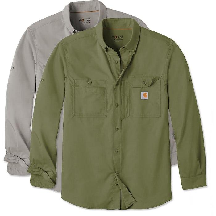 753f655dba Carhartt Force Ridgefield Button Down Shirt