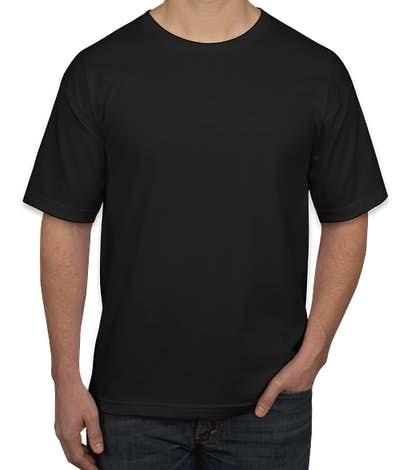 Bayside USA-Made 100% Cotton T-shirt - Black