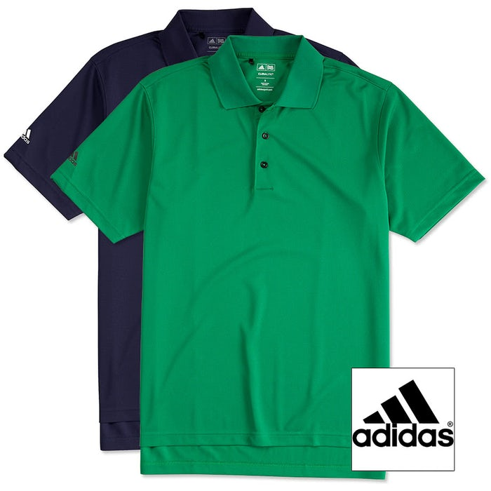 fb54a98bc Design Custom Embroidered Adidas ClimaLite Performance Polo Online ...