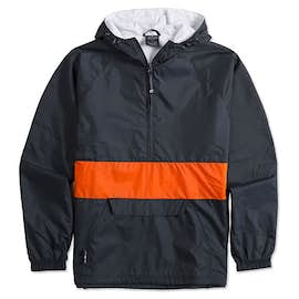 Charles River Classic Striped Hooded Packable Anorak
