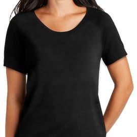New Era Women's Cinch Tri-Blend Performance Shirt - Color: Black Solid