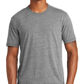 New Era Tri-Blend Performance Shirt - Color: Shadow Grey Heather