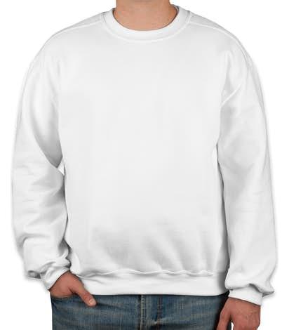 Gildan Premium Blend Midweight Crewneck Sweatshirt - White