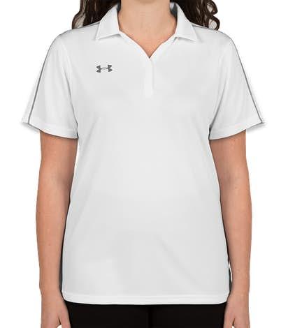Under Armour Women's Tech Polo - White