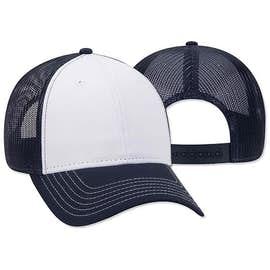 Otto Cap Low Profile Two-Tone Trucker Hat