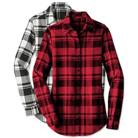 Port Authority Women's Plaid Flannel Shirt