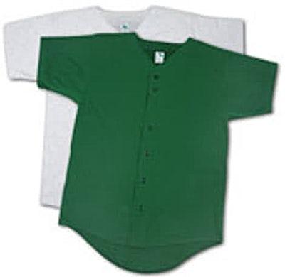 Augusta Button Front Baseball Shirt