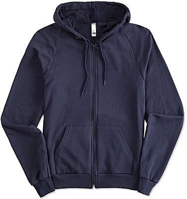 American Apparel USA-Made Zip Hoodie