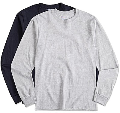 Champion Tagless Long Sleeve T-shirt