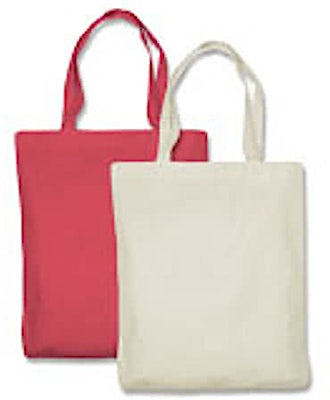 Toppers 100% Cotton Canvas Tote